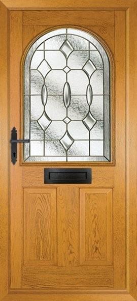 Stafford Composite Door Wood