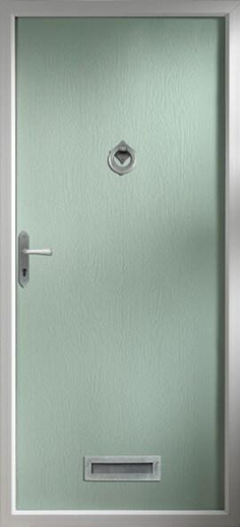 Thornbury Composite Door Green
