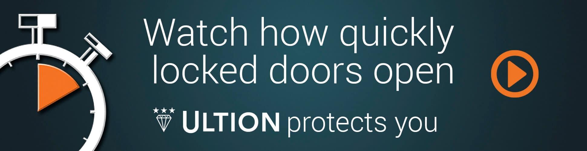 Ultion Door Lock Time
